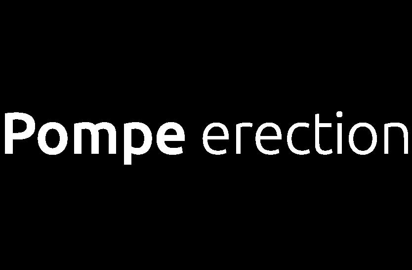 Pompe érection