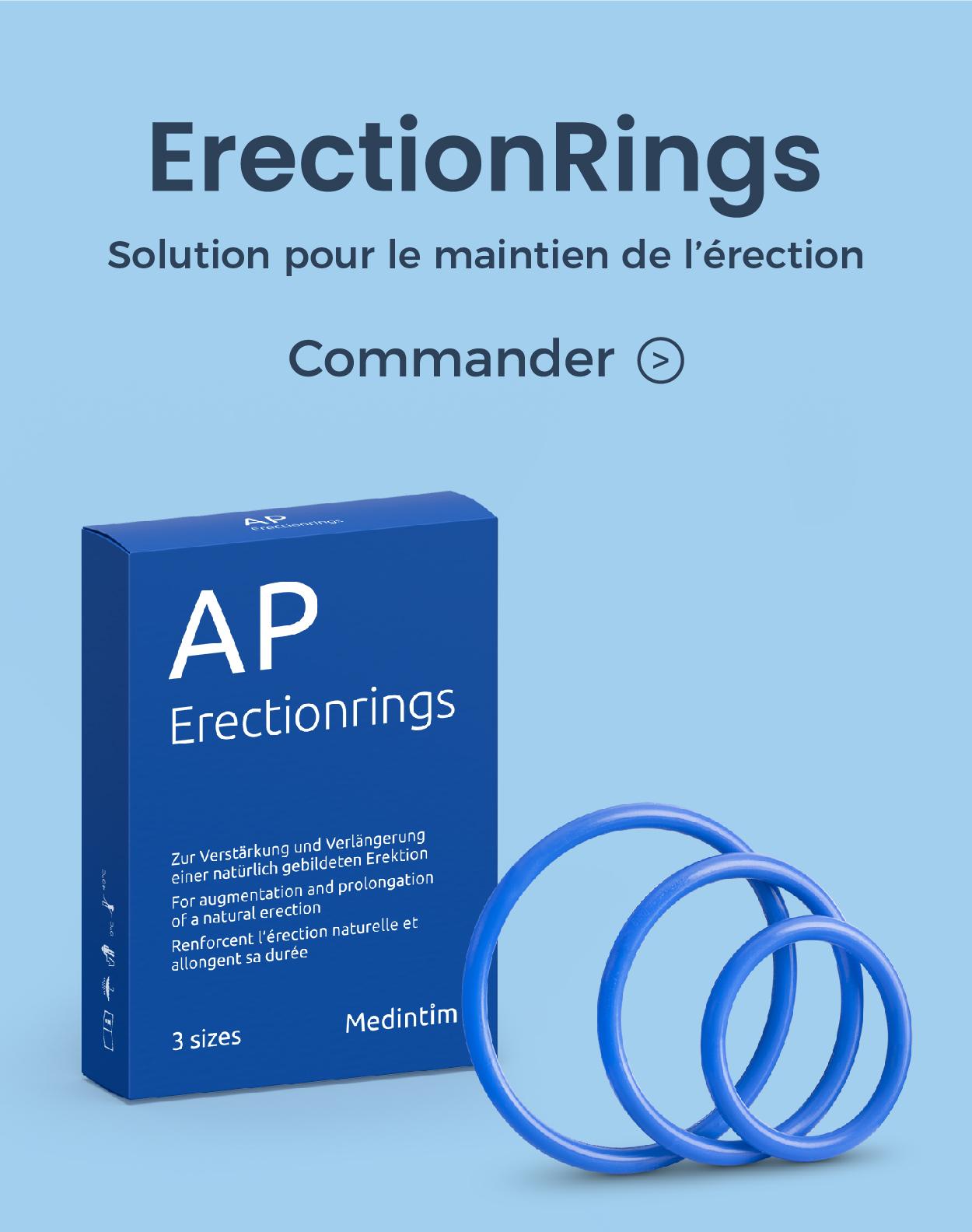 erectionrings de medintim dispositif medical pour le maintien de l'erection