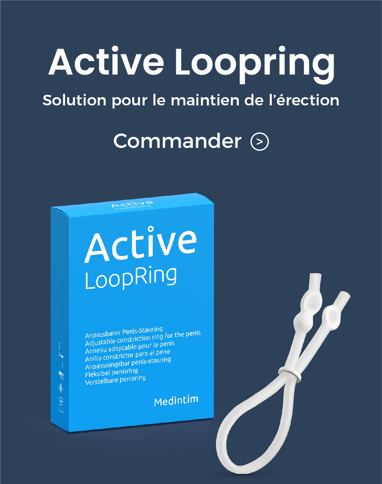 active loopring de medintim dispositif medical pour le maintien de l'erection